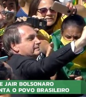 Aliada do presidente, Record ignora evento da Independência com Bolsonaro