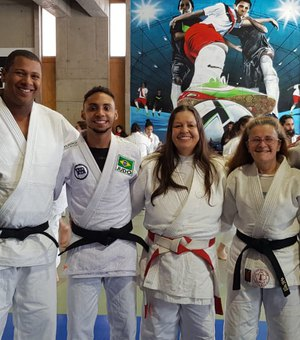 Judoca alagoano disputa final do Sul-Americano de Judô no Chile